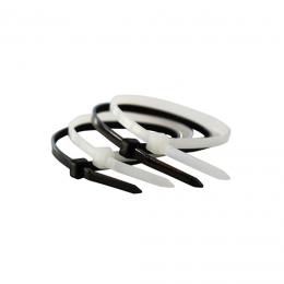 Coliere plastic 200 x 3,6 mm. (100 buc.) negre