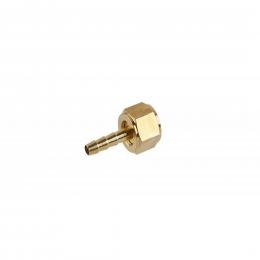 Adaptor alamă 6 mm. - 3/8'' interior