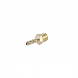 Adaptor alamă 6 mm. - 1/4'' exterior