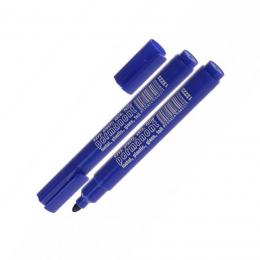 Marker permanent albastru