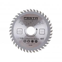 Panza fierastrau circular 115 mm. /22. 2/40