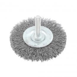 Perie circulara cu tija otel 100 mm.