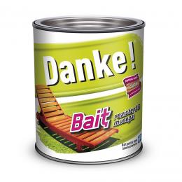 Bait colorat pentru lemn Danke Nuc 0,75 L.