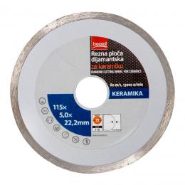 Disc diamantat continuu 115 mm.