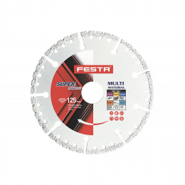 Disc diamantat universal 125 x 22,2 mm.