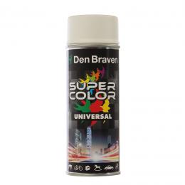 Spray universal RAL 9010 alb mat 400 ml.