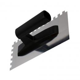 Gletiera inox zimti 8x8 maner plastic 13 x 27 mm.