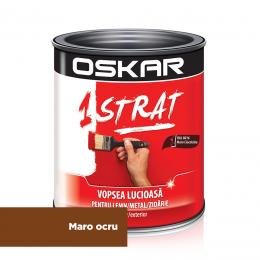Email metal si lemn RAL 8016 Oskar 1 Strat MARO 8016 0.75 L.