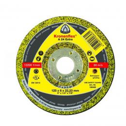Disc polizat KL-A 24 EX 125 X 6 X 22 mm. (10 buc./cutie)
