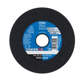 Disc debitat PFERD 125 X 1.6 mm. SG STEELOX