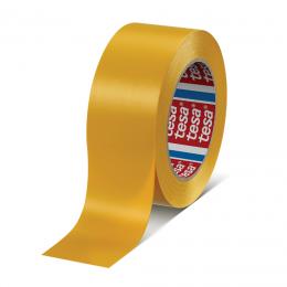 Banda adeziva textila profesionala 25 m. X 50 mm. galben