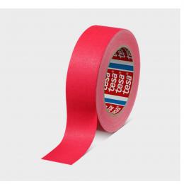 Banda adeziva textila profesionala 25 m. X 50 mm. rosu/rosu