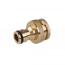 "Adaptor robinet 1/2"" 3/4"" filet interior alamă"