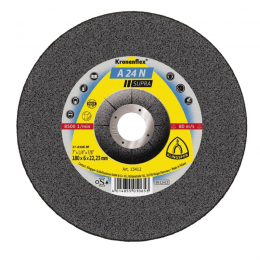 Disc polizat KL-A24 N 115 X 6 X 22.23 mm. cu centru depresat