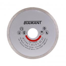 Disc diamantat continuu 115x22.2x2 mm.