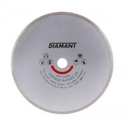 Disc diamantat continuu 230x22.2x2.4 mm.