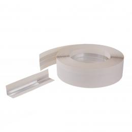 Banda cornier ranforsata hartie/aluminiu 30 m. x 5 cm.
