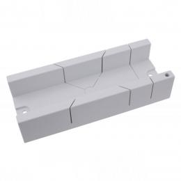 Dispozitiv plastic taiat in unghi 300x115x6 mm.
