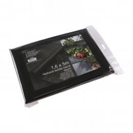 Folie mulcire căpșuni negru 1.6 x 5 m. 50 g. / m2
