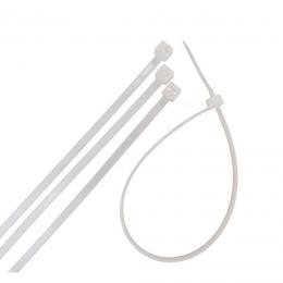 Coliere plastic albe 400 x 4.8 mm. (50 buc.)