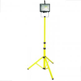 Lampa led cu trepied telescopic 20 W. - 1300 lumen cablu 3 m.