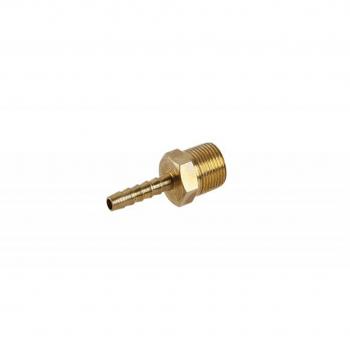 Adaptor alamă 6 mm. - 3/8'' exterior