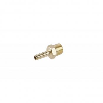 Adaptor alamă 6 mm. - 1/4'' exterior