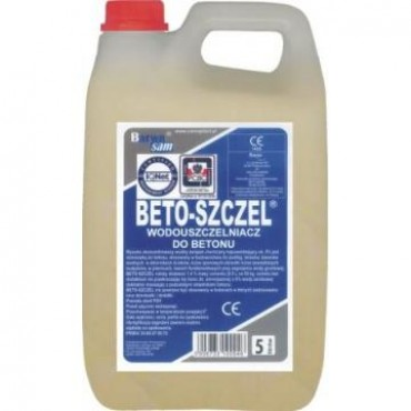 Aditiv hidroizolant - BETO-SZCZEL - 5 Litri