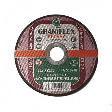 Disc De Debitat 125x1x22.23 Inox - 40436