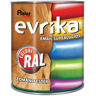 Vopsea Email AZUR S5044 Evrika Gri RAL 7024 0.75 Litri