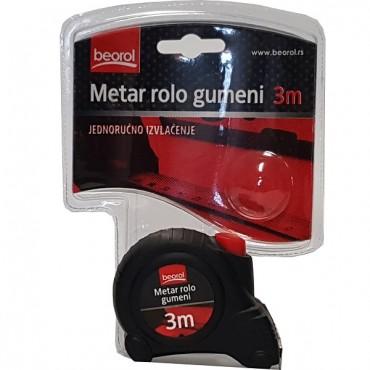 Ruleta Autostop Rola Cauciuc 3 Metri -520007