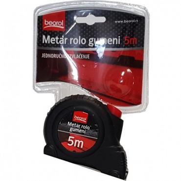 Ruleta Autostop Rola Cauciuc 5 Metri -520008