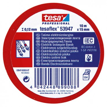 Banda Electroizolatoare 20MX19MM Rosu -53947