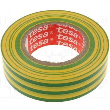 Banda Electroizolatoare 20MX19MM Galben/Verde -53947