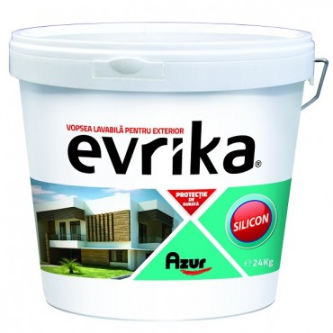 Vopsea Lavabila Exterior Silicon Evrika S8634 24kg