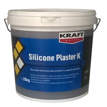 KRAFT TENCUIALA DECORATIVA SILICONICA ALBA - SILICONE PLASTER K15 25KG