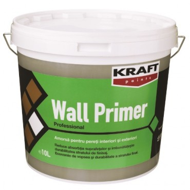 KRAFT Amorsa transparenta pentru perete - WALL PRIMER NEW 10L