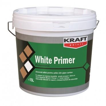 KRAFT AMORSA ALBA PT INTERIOR SI EXTERIOR - WHITE PRIMER 15L