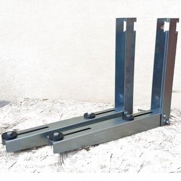 Suport aer conditionat 370x450mm max 140kg zincat cu organe asamblare