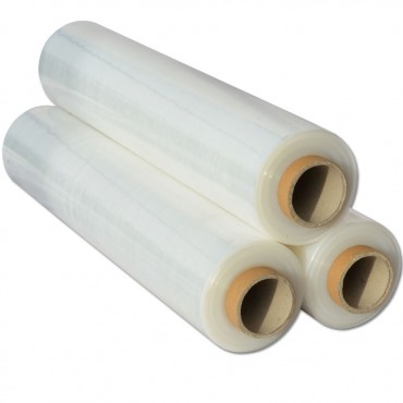 FOLIE STRETCH AMBALARE MANUALA 23 microni (GREUTATE NETA 1,4 KG/ROLA) - 130 METRI