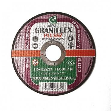 Disc De Debitat 115x1x22.23 Inox -40435