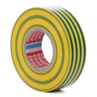 Banda Electroizolatoare 10mx15mm Galben/Verde- 53947