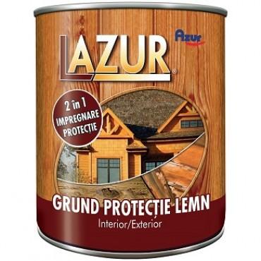 Grund Lazur 2 In 1 protectie pentru lemn 4 Litri NEW