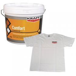 Vopsea Lavabila Interior Kraft Comfort Profesional 15l + Tricou Gratis
